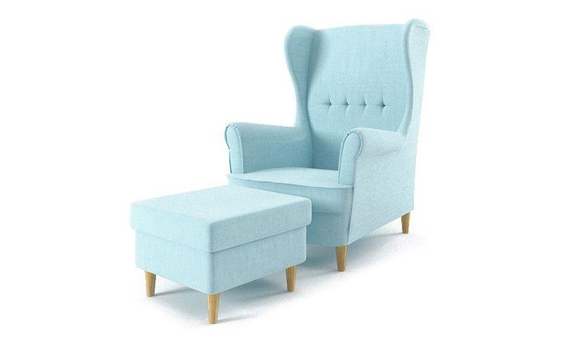 Fotel USZAK +PODNÓŻEK